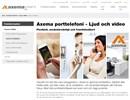 Axema Porttelefoni på webbplats