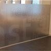 Bil & glasdesign Insynsskydd som printad frostvinyl