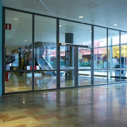 Maxidoor glasade stålpartier