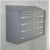 Postbox BOX Original Plus, 2x4, vägghängd