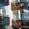 Lumon balkongräcken/balkongfasad