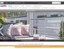 Lumon balkong-/terrassinglasning på webbplats