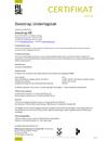 RISE Certifikat 0491/06