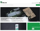 T-Emballage Vindavledare på webbplats