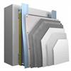 Systemuppbyggnad StoVentec R (puts) ventilerat fasadsystem