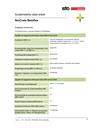 Hållbarhetsdatablad StoCrete Betoflex 2018