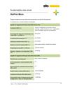 Hållbarhetsdatablad StoPrim Micro 2017