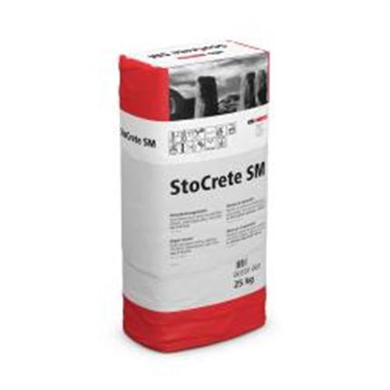 StoCrete SM snabblagningsbruk
