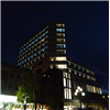 Wennerström Ljuskontroll har installerat fasadbelysning på Comfort Hotel Winn, Umeå