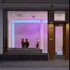 Wennerström Ljuskontroll har installerat styrsystem och driftdon av Tridonic för wall-wash effekt, WLK Showroom, Stockholm