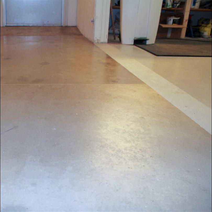 Ytskydd för renvoering av betonggolv