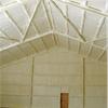 Polyterm sprayisolering i ventilationslager
