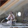 Polyterm sprayisolering för hus