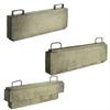 Betongelement, fördelningsbalkar till Skyddsprodukters Reservutgång för skyddsrum