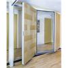 Winab Glasvikvägg med kombinerade material