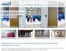 Winab Glasvikvägg på webbplats