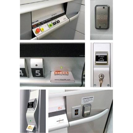 Plattformshissar Cibes A4000/A5000/A7000/A8000