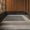 Weland Ram Ingjutningsram med L-profil i betongtrappa