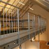 Weland Sektionsräcke Rundstång och Entresol med Sigmabalk