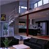 Spiraltrappa för villa, kontor och inomhusbruk