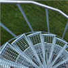 Weland spiraltrappor med rundstångsfäste