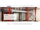 Weland entresol på webbplats