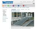 Weland handikappramper på webbplats