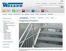 Weland trappsteg och planer webbsida