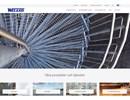 Weland stormaskigt galler på webbplats