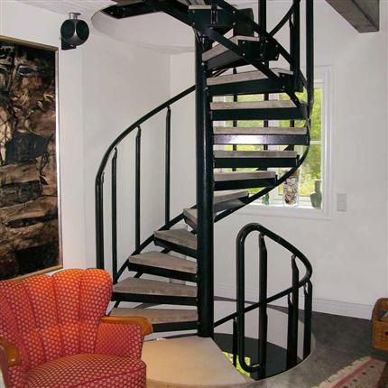 Weland spiraltrappor, villa och kontor