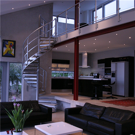 piraltrappa för villa, kontor och inomhusbruk