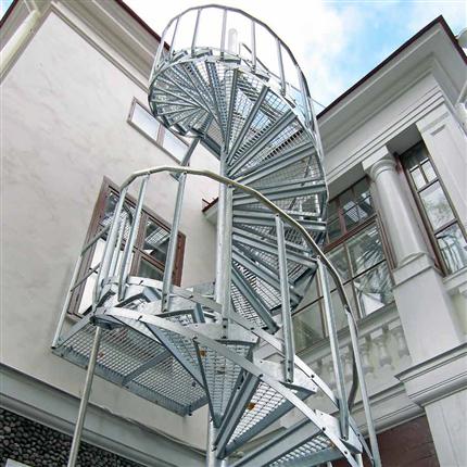 Weland spiraltrappor