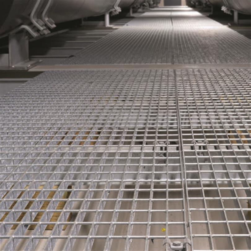 Weland aluminiumgaller, gånggaller
