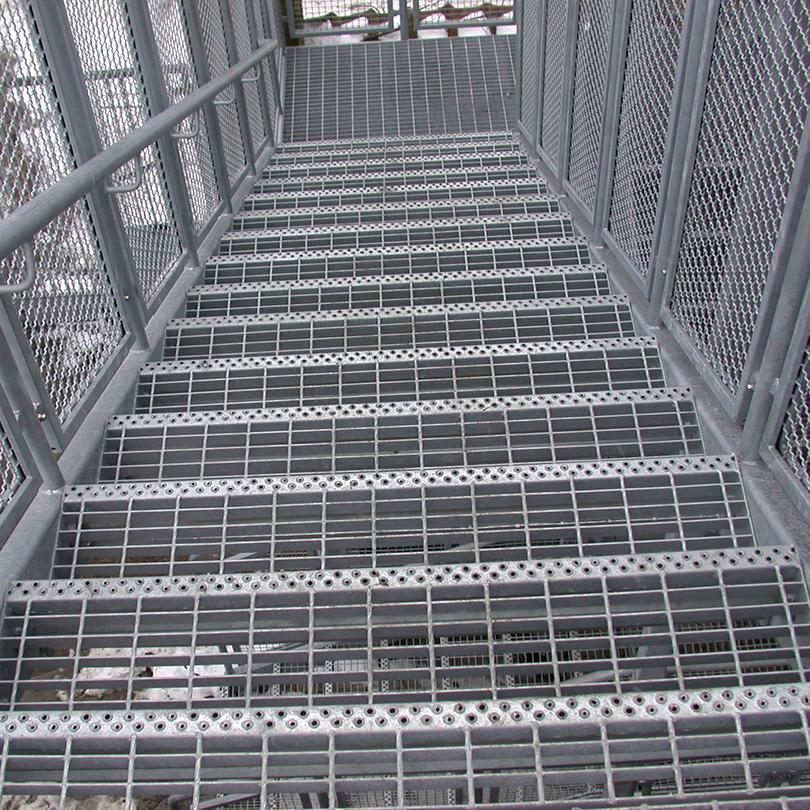 Weland Raka trappor med steg