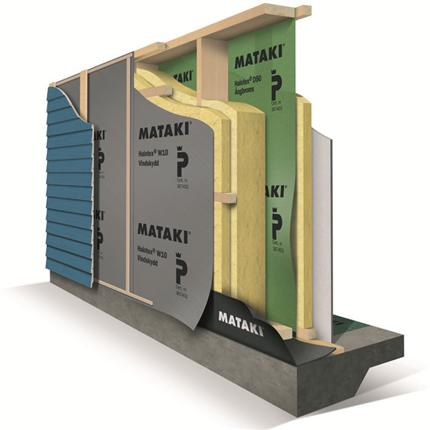 Mataki Halotex väggsystem