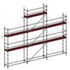 Layher Allround modulställning- 61 m2 med gaveltopp och plattformshöjd 6 m