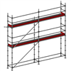 Layher Allround modulställning- 37 m2
