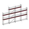 Layher Allround modulställning- 86 m2 med gaveltopp och plattformshöjd 6 m