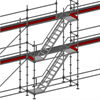 Layher Allround modultrappa 4 meter
