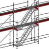Layher Allround modultrappa- 4 meter