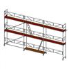 Layher SpeedyScaf ramställning- 55 m2 med trappor