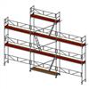Layher SpeedyScaf ramställning- 61 m2 med trappor