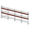 Layher SpeedyScaf ramställning- 74 m2