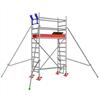 Layher Uni Light rullställning- 2,3 meter