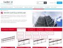 Layher Allround modulställningar på webbplats