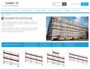 Layher SpeedyScaf ramtrappa på webbplats