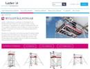 Layher Uni Compact rullställning på webbplats