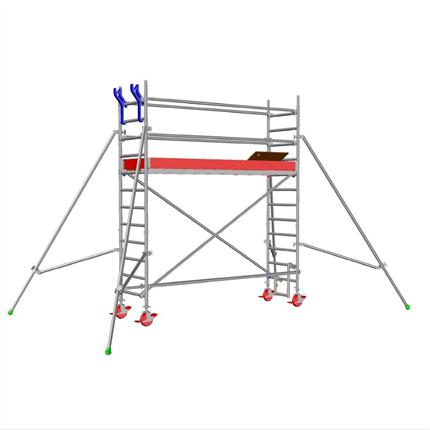 Layher Uni Standard rullställning, 2,3 meter
