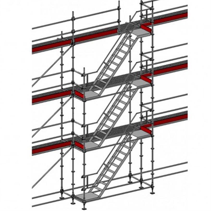 Layher Allround modultrappa 6 meter