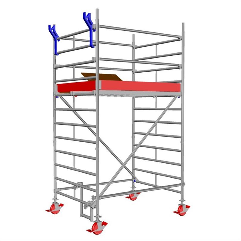 Layher Uni Compact rullställning, 2,3 meter
